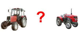 Чем минитрактор лучше трактора